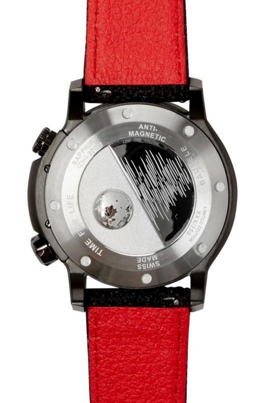 Bausele Ocean Moon IV watch case back