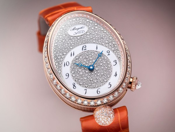 Breguet Reine De Naples 8938 watch rose gold diamond set