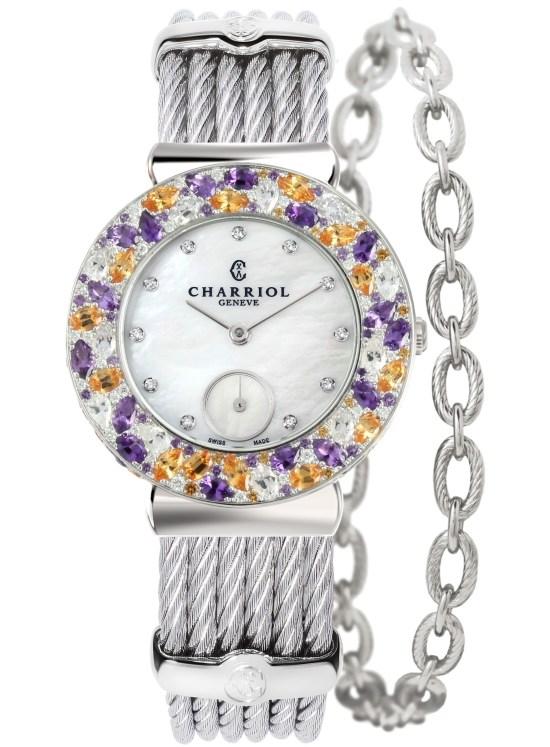CHARRIOL St-Tropez Magnolia watch