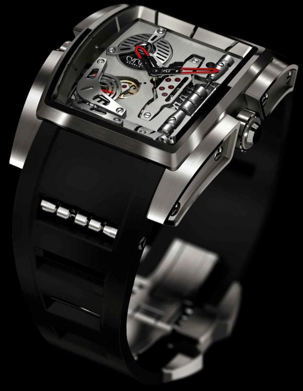 CYRUS KAMBYS watch titanium