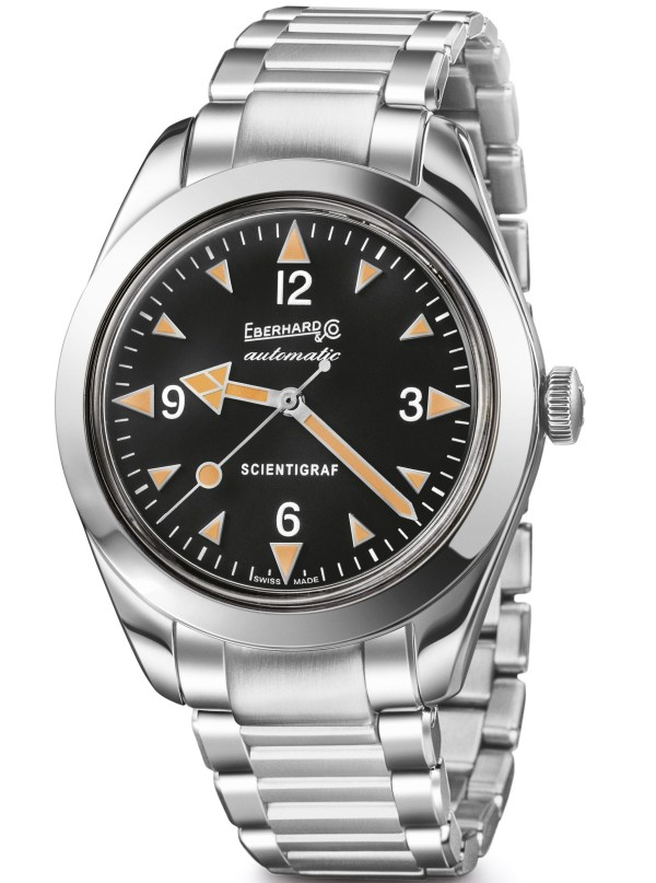 Eberhard & Co. 'Scientigraf'  watch with bracelet