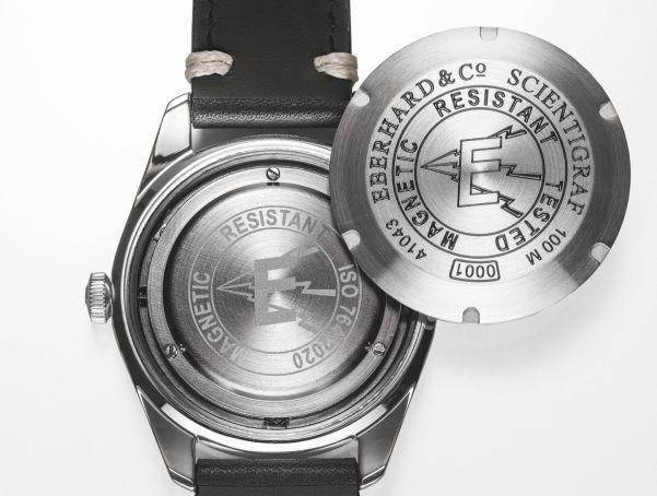 Eberhard & Co. 'Scientigraf'  watch faraday cage