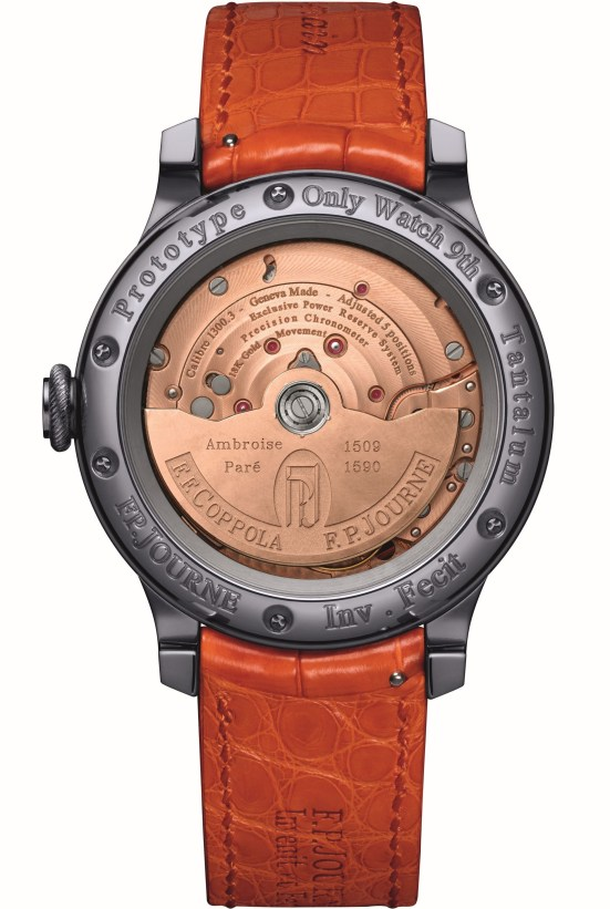 F.P.Journe Only Watch, Unique piece based on an original idea from Francis Ford Coppola