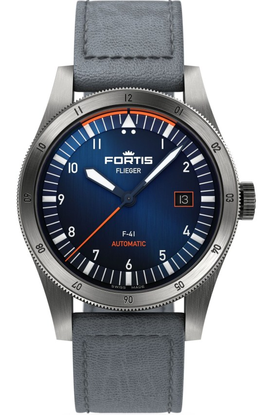 Fortis Flieger F-41 and F-39 Midnight Blue Models