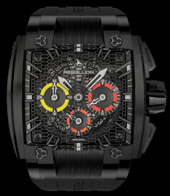 REBELLION RE1 2.0 Chronograph, Unique Piece for Only Watch 2021