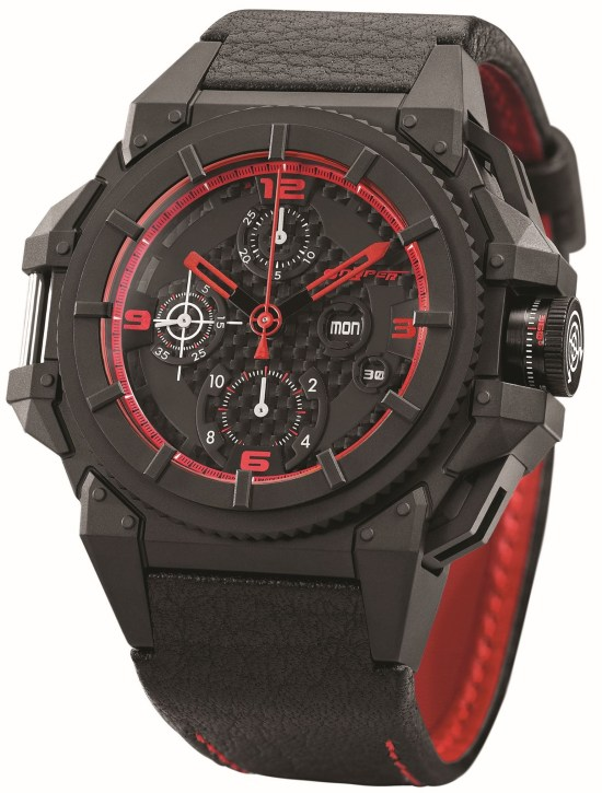 SNYPER ONE Red Limited Chronograph Deep Water Horizon