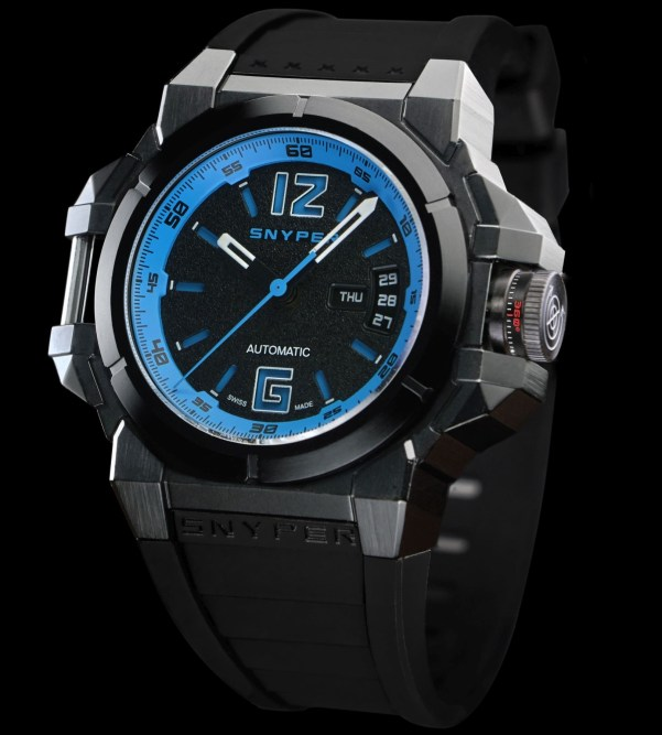 Snyper Two – Black PVD Navy, Reference: 20.290.0R