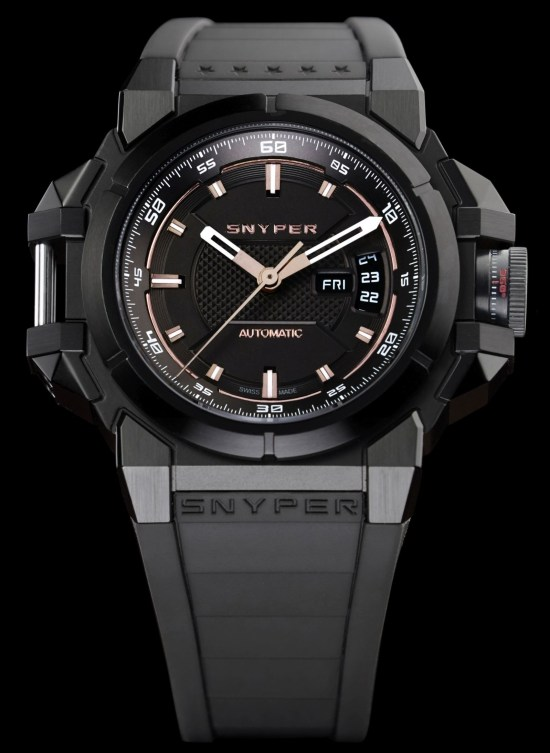 Snyper Two – Titanium Grey PVD Watch, Reference: 20.305.0R