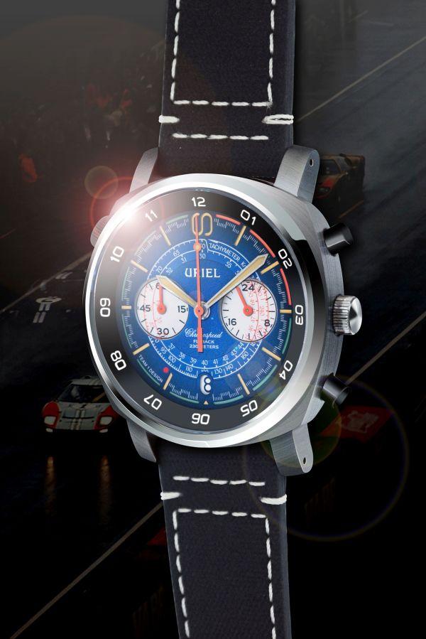 URIEL GT 40C Chronograph Navy