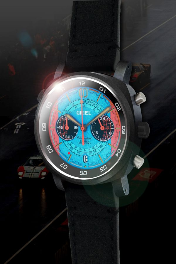 URIEL GT 40C Chronograph Turquoise