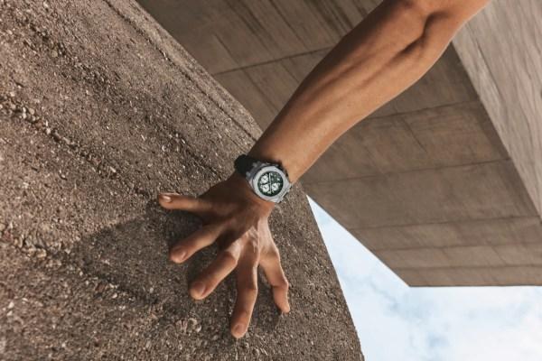 Audemars Piguet Royal Oak Offshore Self-winding Chronograph 42 mm, new models with Méga Tapisserie pattern dial