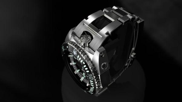 BOHEN MILLE-MER watch crown