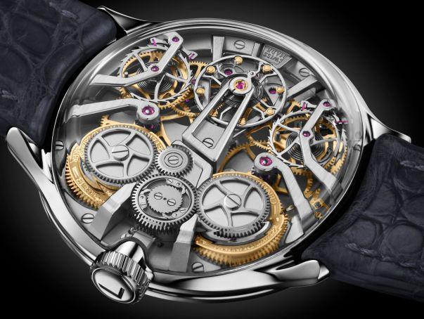 Bernhard Lederer Central Impulse Chronometer movement