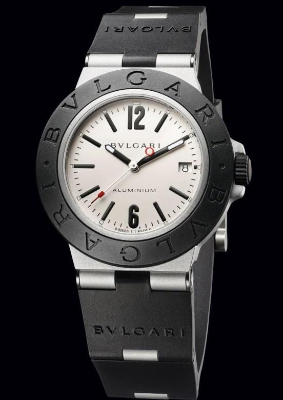 Bvlgari Aluminium Grey Dial, reference 103382