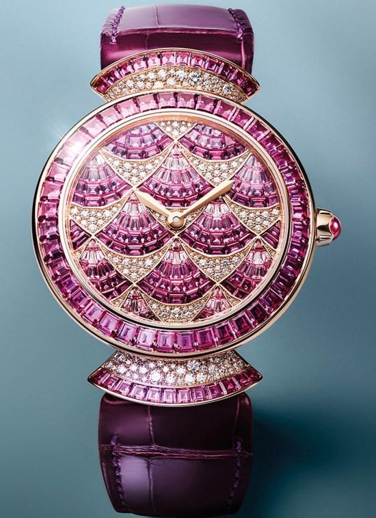 Bvlgari Divina Mosaica Pink Sapphire, reference 103492