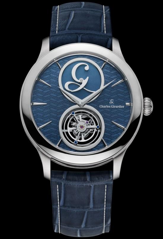 Charles Girardier 1809 Cobalt Blue 41 mm