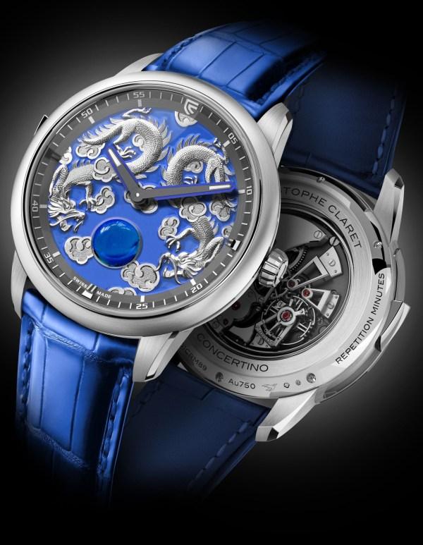 Christophe Claret Concertino titanium watch