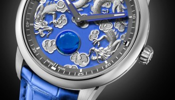 Christophe Claret Concertino minute repeater watch titanium case