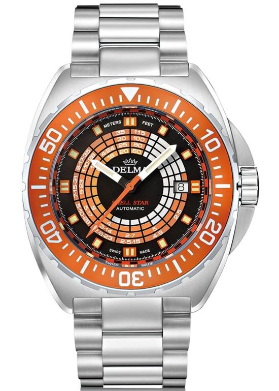 Delma Shell Star Decompression Timer
