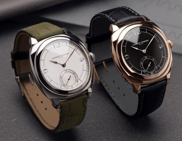 LAURENT FERRIER Square Micro-Rotor Retro watches