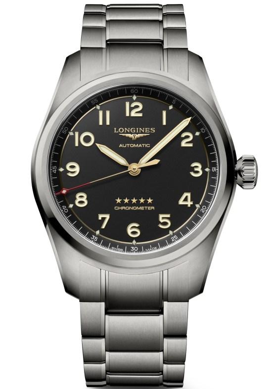 Longines Spirit Titanium watch with bracelet