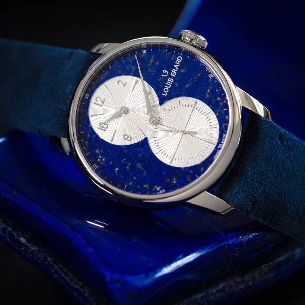 Louis Erard Excellence Régulateur Lapis-Lazuli