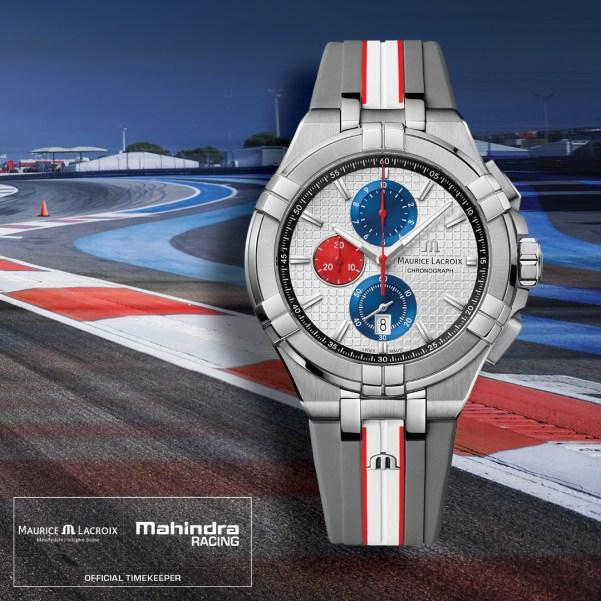 Maurice Lacroix AIKON Chronograph Quartz Special Edition Mahindra Racing
