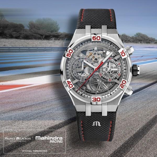 Maurice Lacroix AIKON Chronograph Skeleton Automatic Special Edition Mahindra Racing
