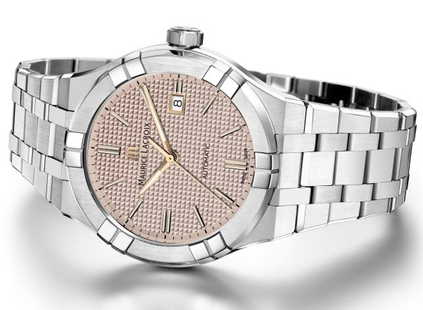Maurice Lacroix Aikon Automatic New Versions with rose dial