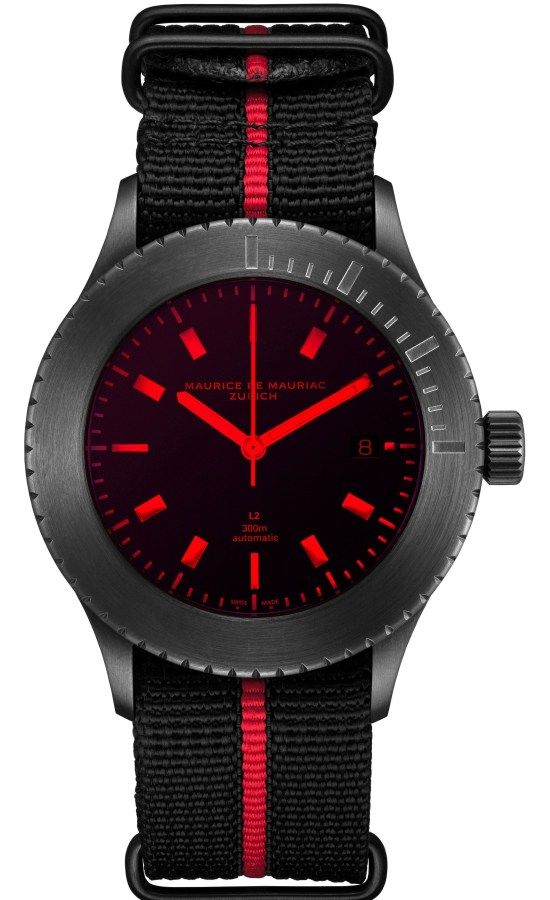 Maurice de Mauriac L2 Red Sea Limited Edition