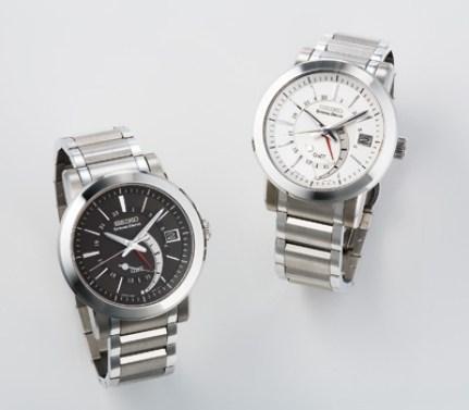 SEIKO Spring Drive GMT: SNR007 & SNR009
