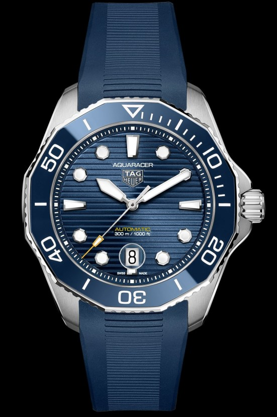 TAG Heuer Aquaracer Professional 300 Calibre 5 Automatic blue dial Reference WBP201B.FT6198