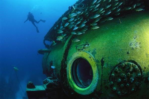 The Aquarius Reef Base by Florida International University