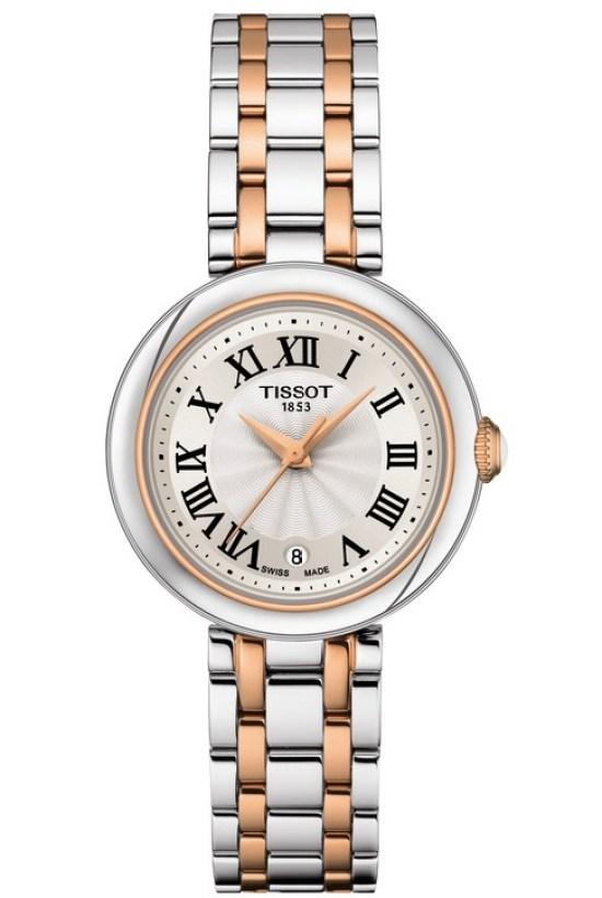 Tissot Bellissima watch bi color