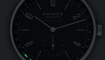 NOMOS Glashütte Tangente neomatik 41 Update Midnight Blue