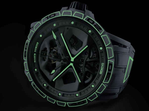 """Roger Dubuis Excalibur Spider Huracàn """"Frosty White"""" Automatic Limited Edition"""