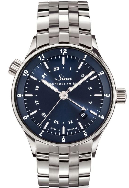SINN Frankfurt World Time Watch 6060 B