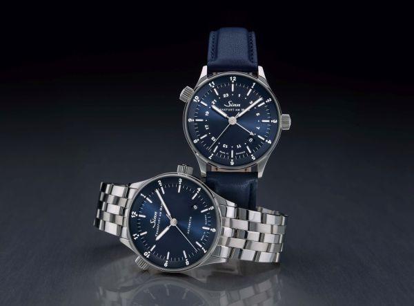 SINN Frankfurt World Time Watches 6060 B & 6068 B