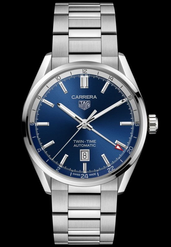 TAG Heuer Carrera Twin-Time Date 41 mm