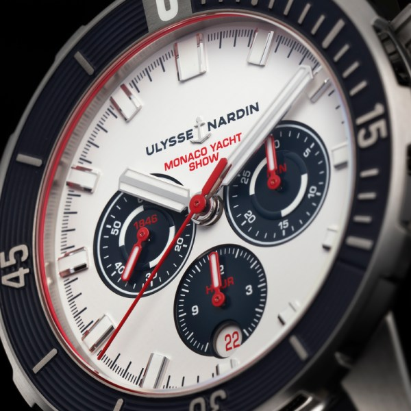 Ulysse Nardin Diver Chronograph 44mm Monaco Yacht Show Limited Edition