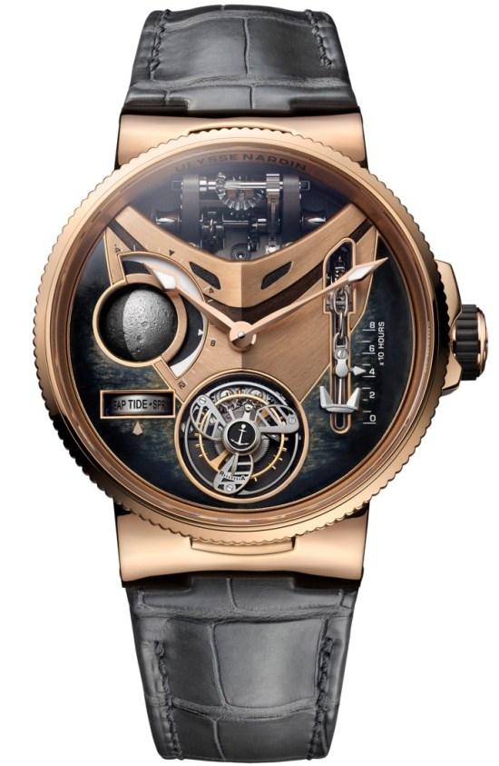 Ulysse Nardin Marine Mega Yacht Watch 44mm Limited Edition 5N Rose Gold
