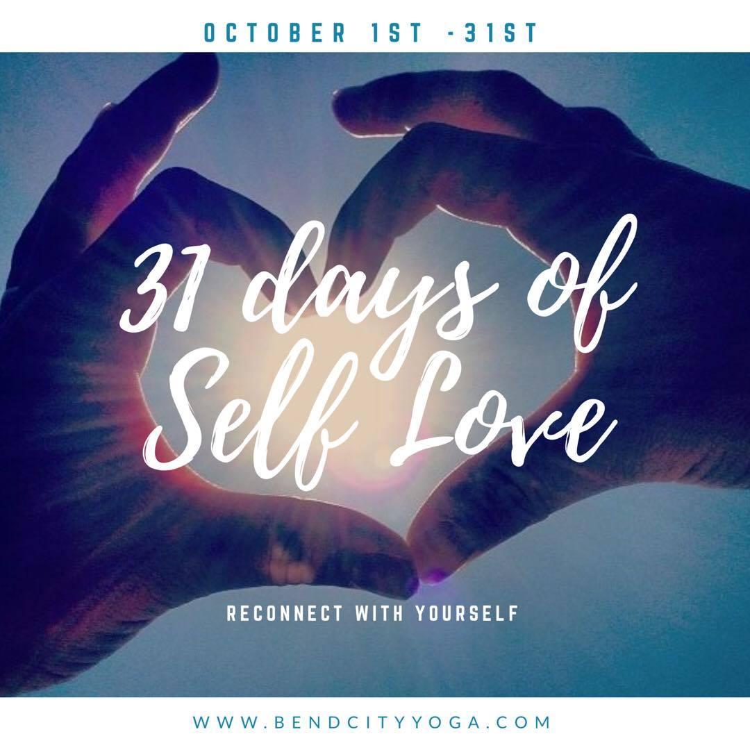 31 Day Self Love Challenge