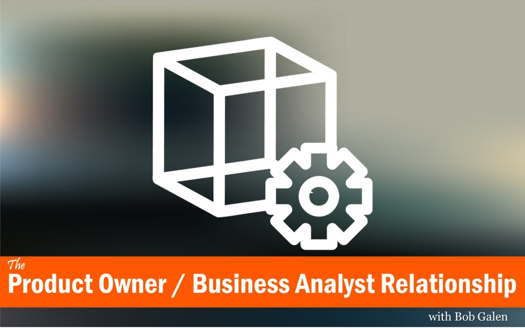 MBA046: The Product Owner / Business Analyst Relationship