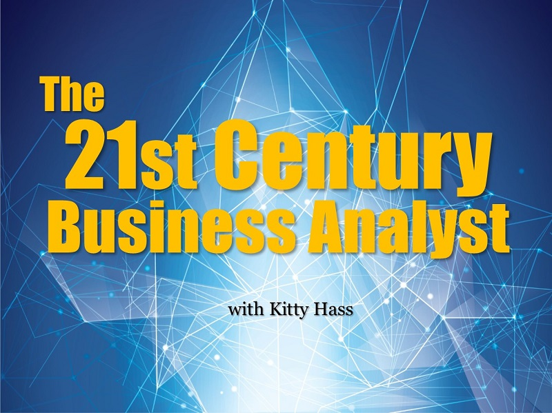 MBA123: The 21st Century Business Analyst