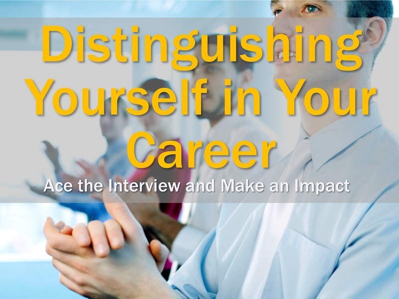 MBA134: Distinguishing Yourself in Your Career