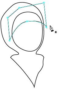 Menggambar Ilustrasi Muslimah Berjilbab dengan Adobe