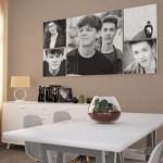 Room Set S28: 5x Square Graphistudio Acrylic Pro In Dining Room