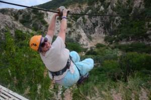 Christi ziplining