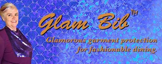 Glam Bib purple