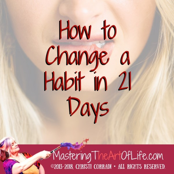 cover art- change a habit in 21 days